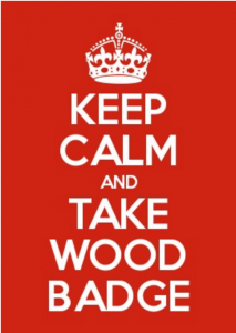 keepcalmandtakewoodbadge